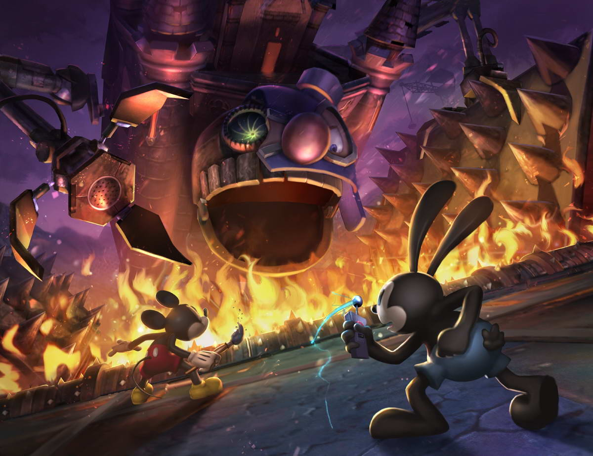 Арт Disney Epic Mickey 2: The Power of Two