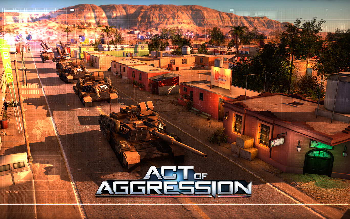 Скриншот Act of Aggression