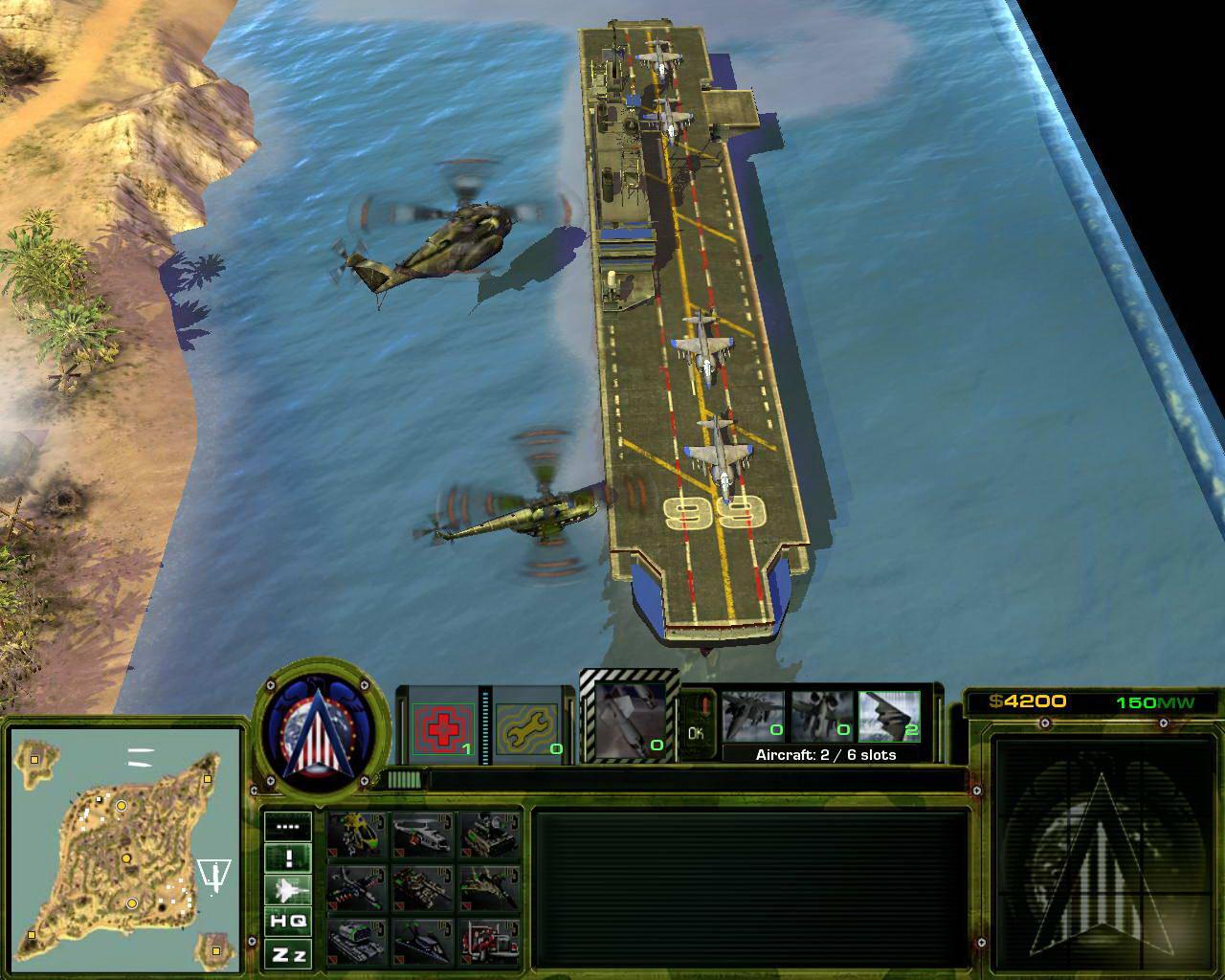 Скриншот Act of War: High Treason