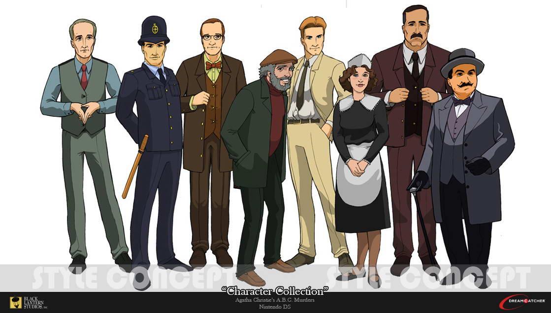 Скриншот Agatha Christie: The ABC Murders