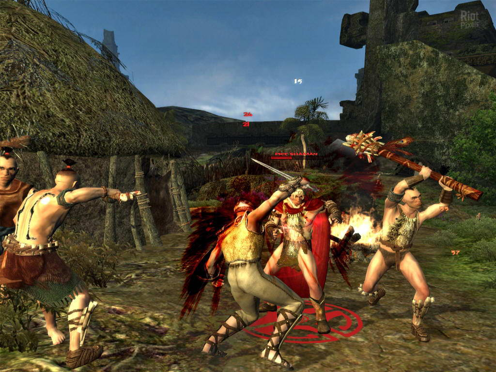 Скриншот Age of Conan: Hyborian Adventures