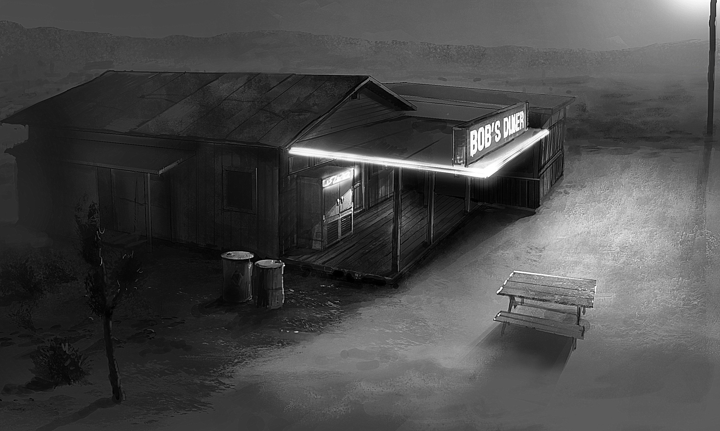 Арт Alan Wake's American Nightmare