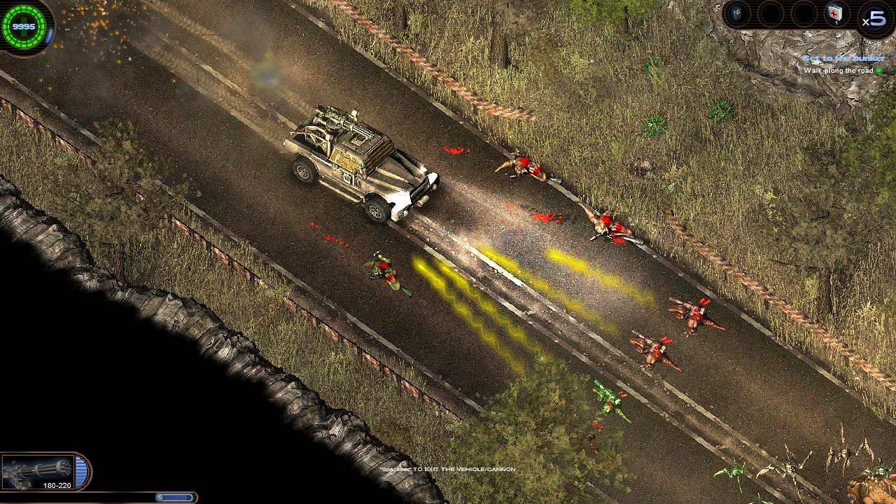 Скриншот Alien Shooter 2 - Conscription
