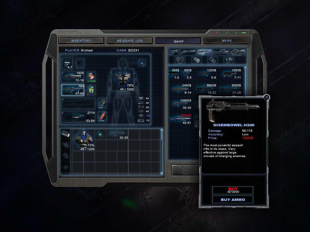 Скриншот Alien Shooter 2: Reloaded