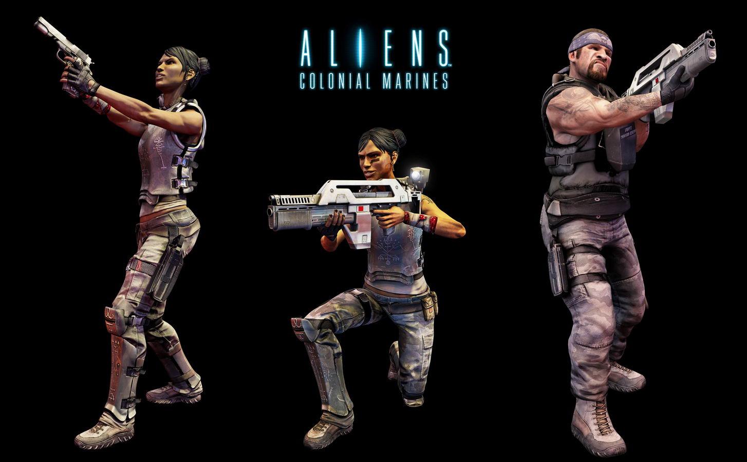 Арт Aliens: Colonial Marines