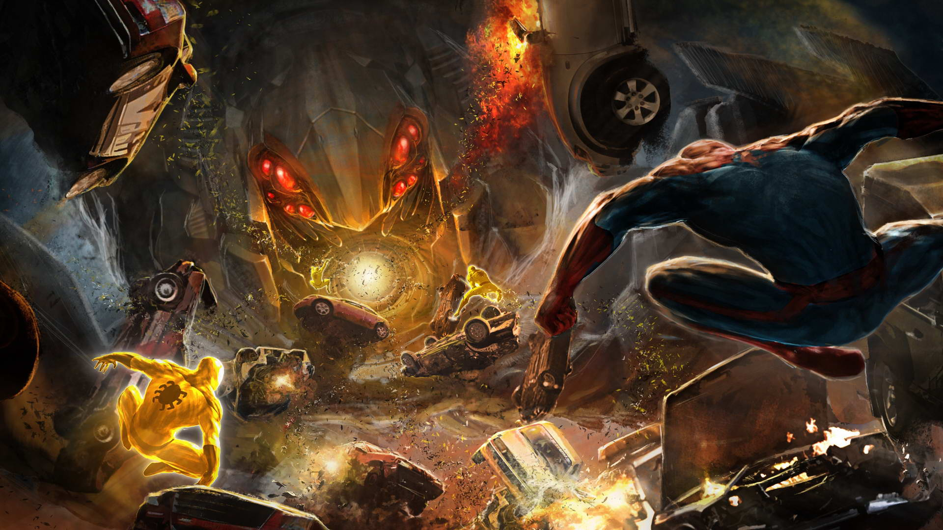 Арт Amazing Spider-Man: The Game