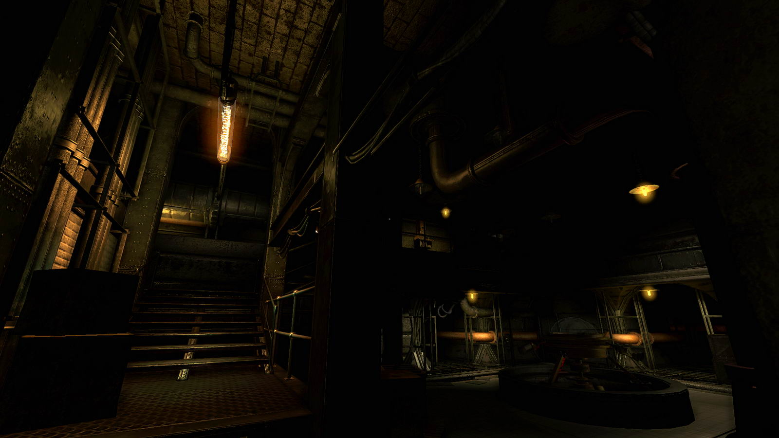Скриншот Amnesia: A Machine for Pigs