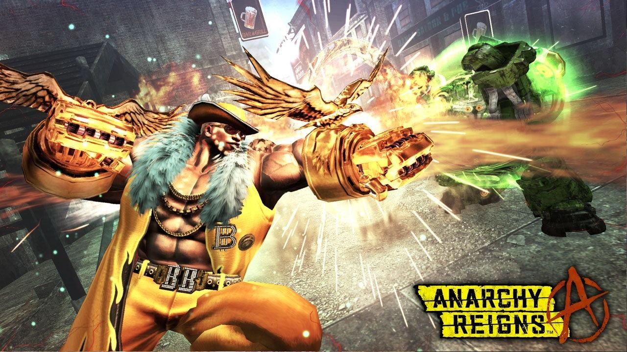 Скриншот Anarchy Reigns (Max Anarchy)
