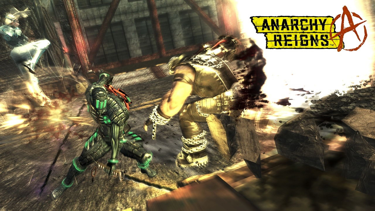 Скриншот Anarchy Reigns (Max Anarchy)