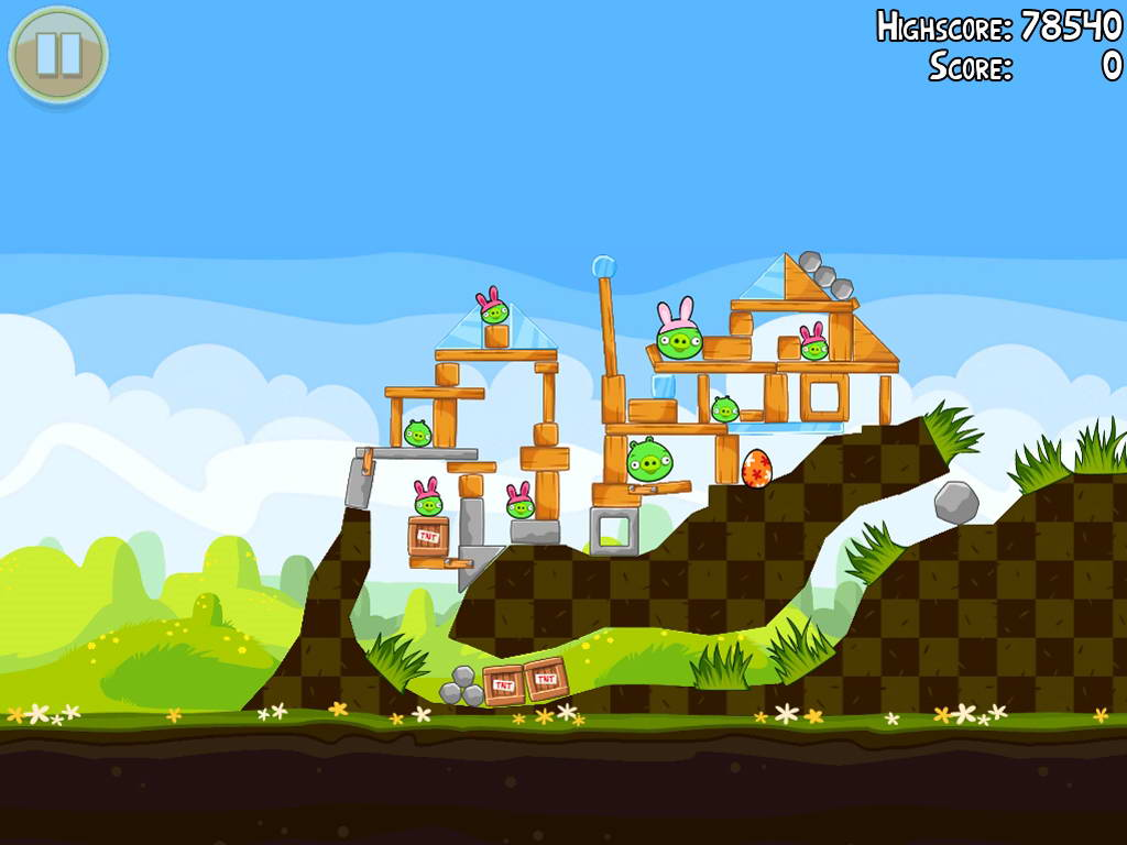 Скриншот Angry Birds Seasons