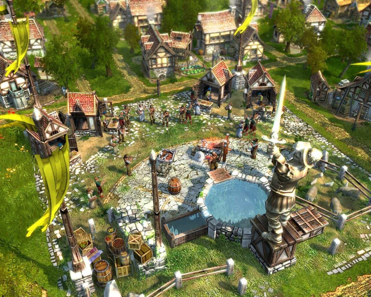 Скриншот Anno 1701