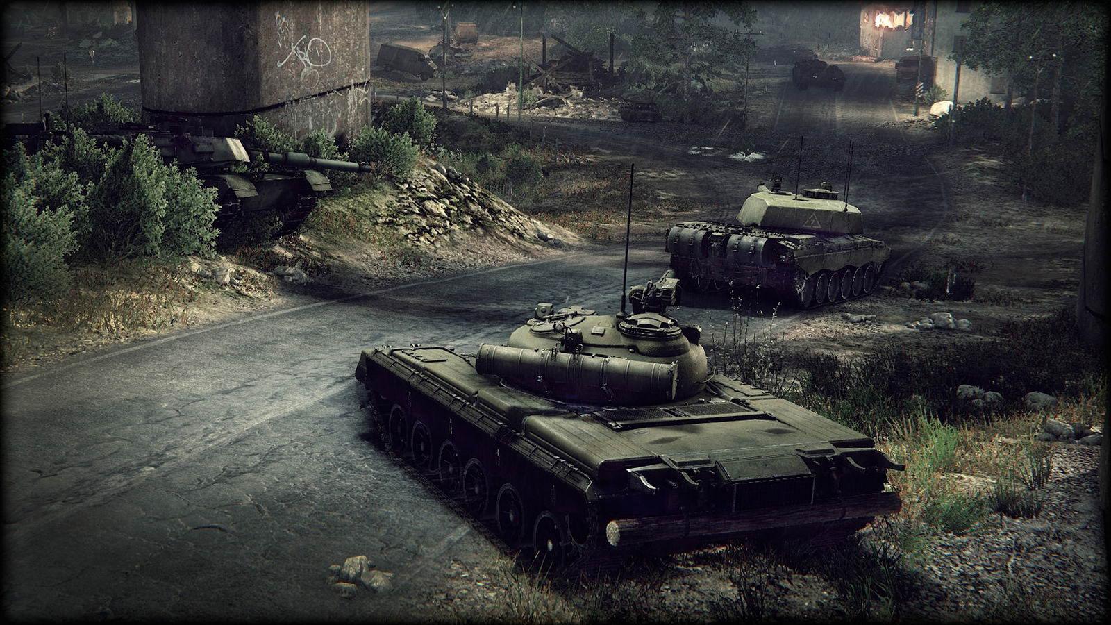 Скриншот Armored Warfare