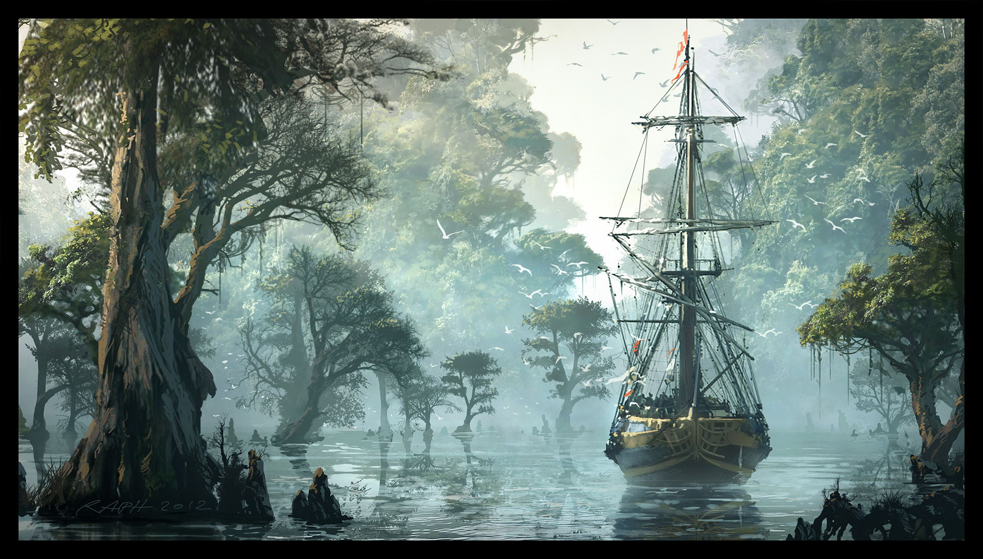 Арт Assassin's Creed IV: Black Flag