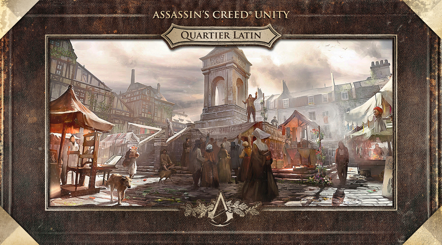 Арт Assassin's Creed: Unity