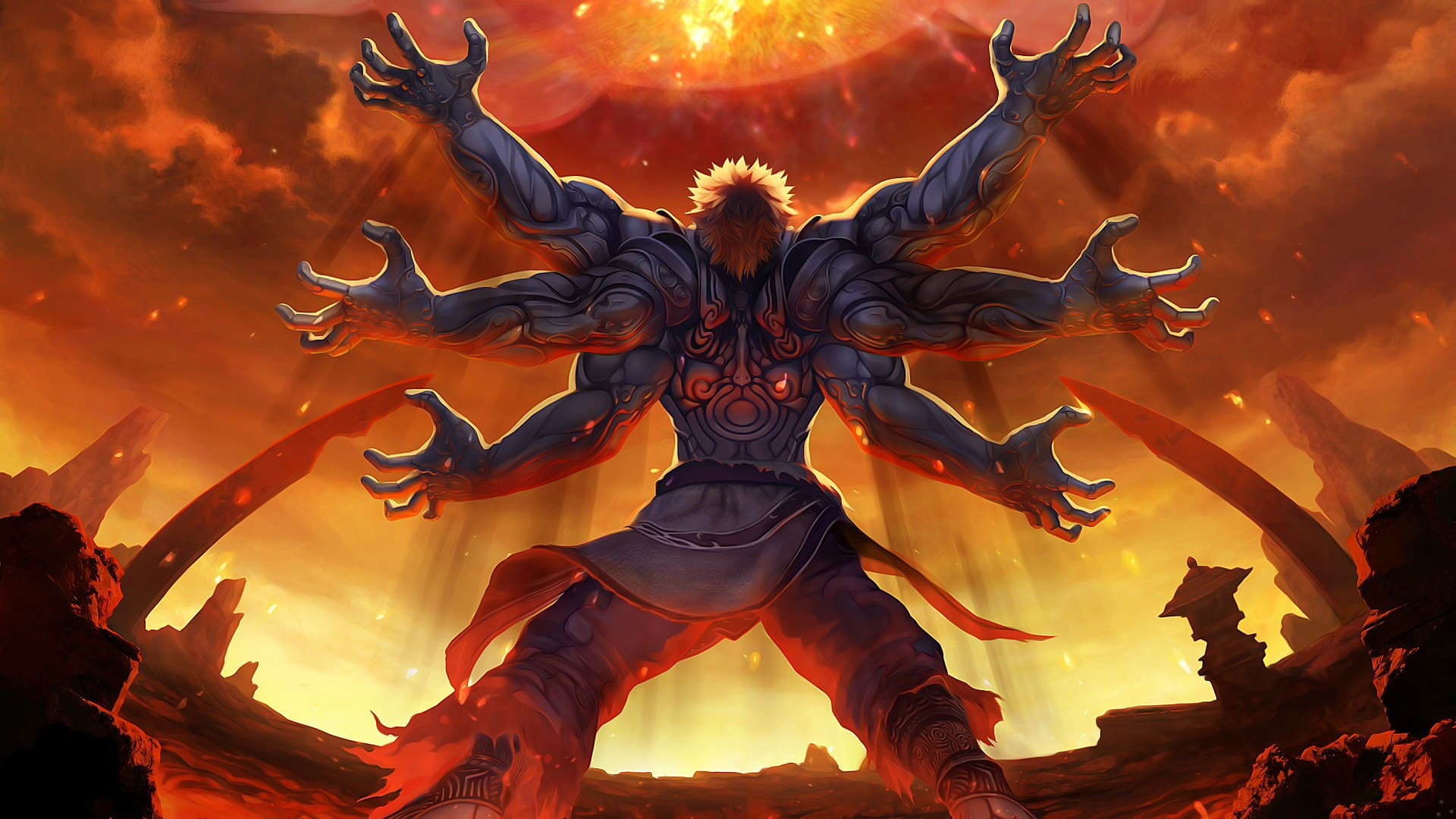 Скриншот Asura's Wrath