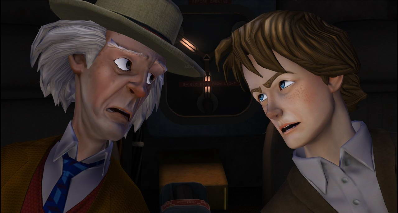 Скриншот Back to the Future: The Game - Episode 1: It's About Time