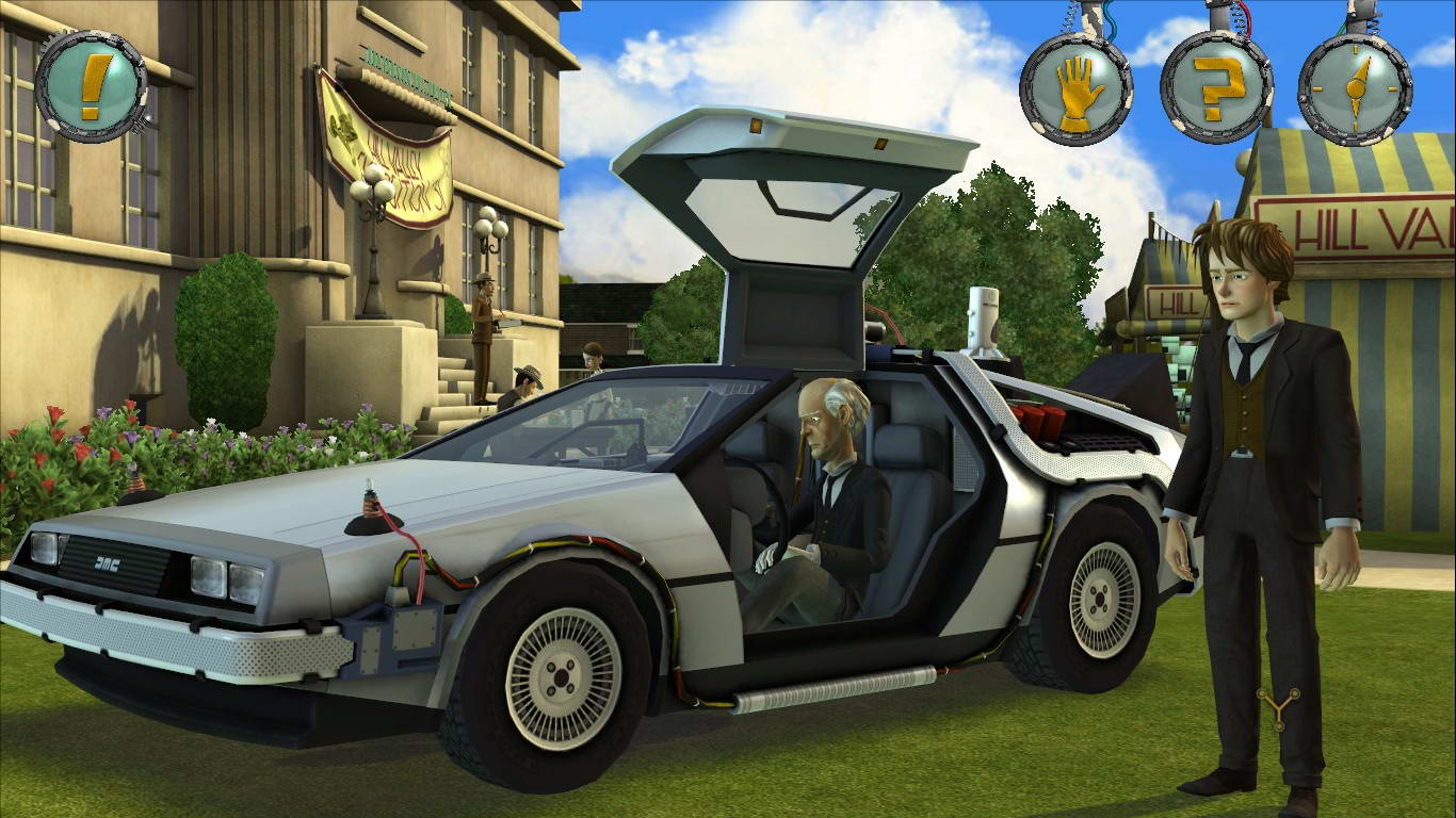 Скриншот Back to the Future: The Game - Episode 3: Citizen Brown