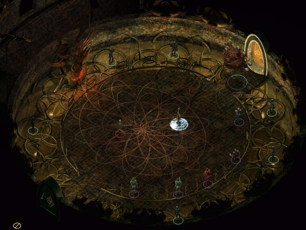 Скриншот Baldur's Gate II: Throne of Bhaal