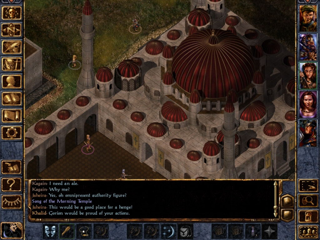 Скриншот Baldur's Gate: Enhanced Edition