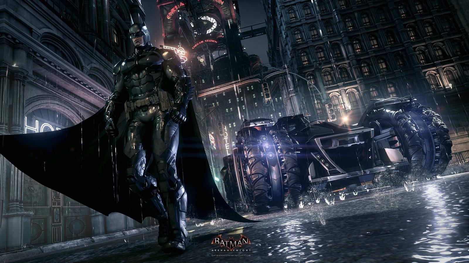 Арт Batman: Arkham Knight