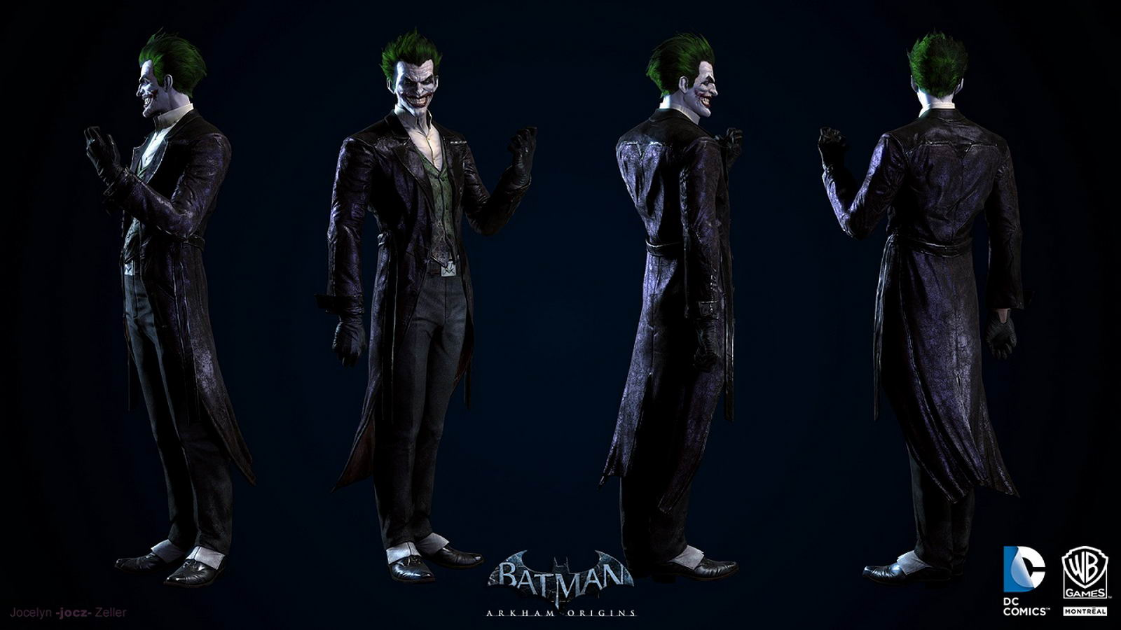 Арт Batman: Arkham Origins