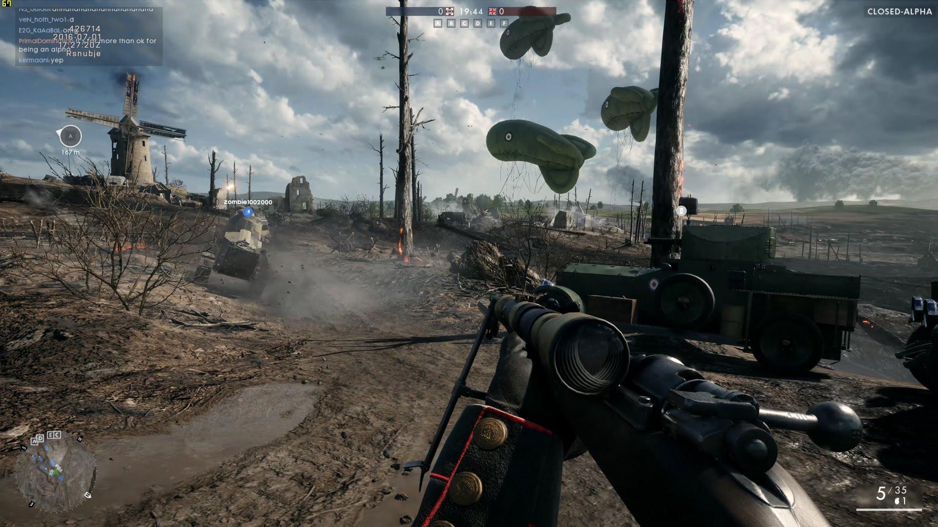 Скриншот Battlefield 1