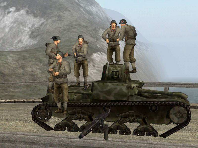Скриншот Battlefield 1942: The Road to Rome