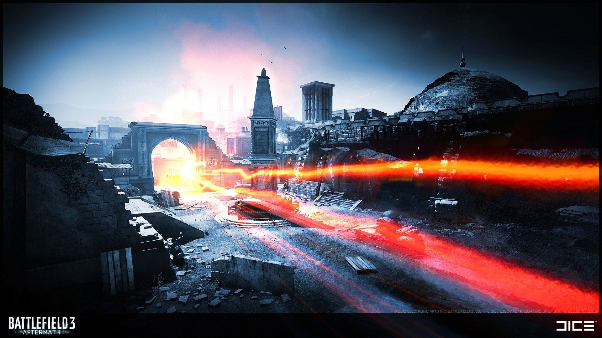 Скриншот Battlefield 3: Aftermath