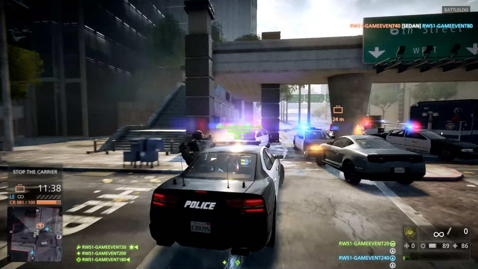 Скриншот Battlefield: Hardline