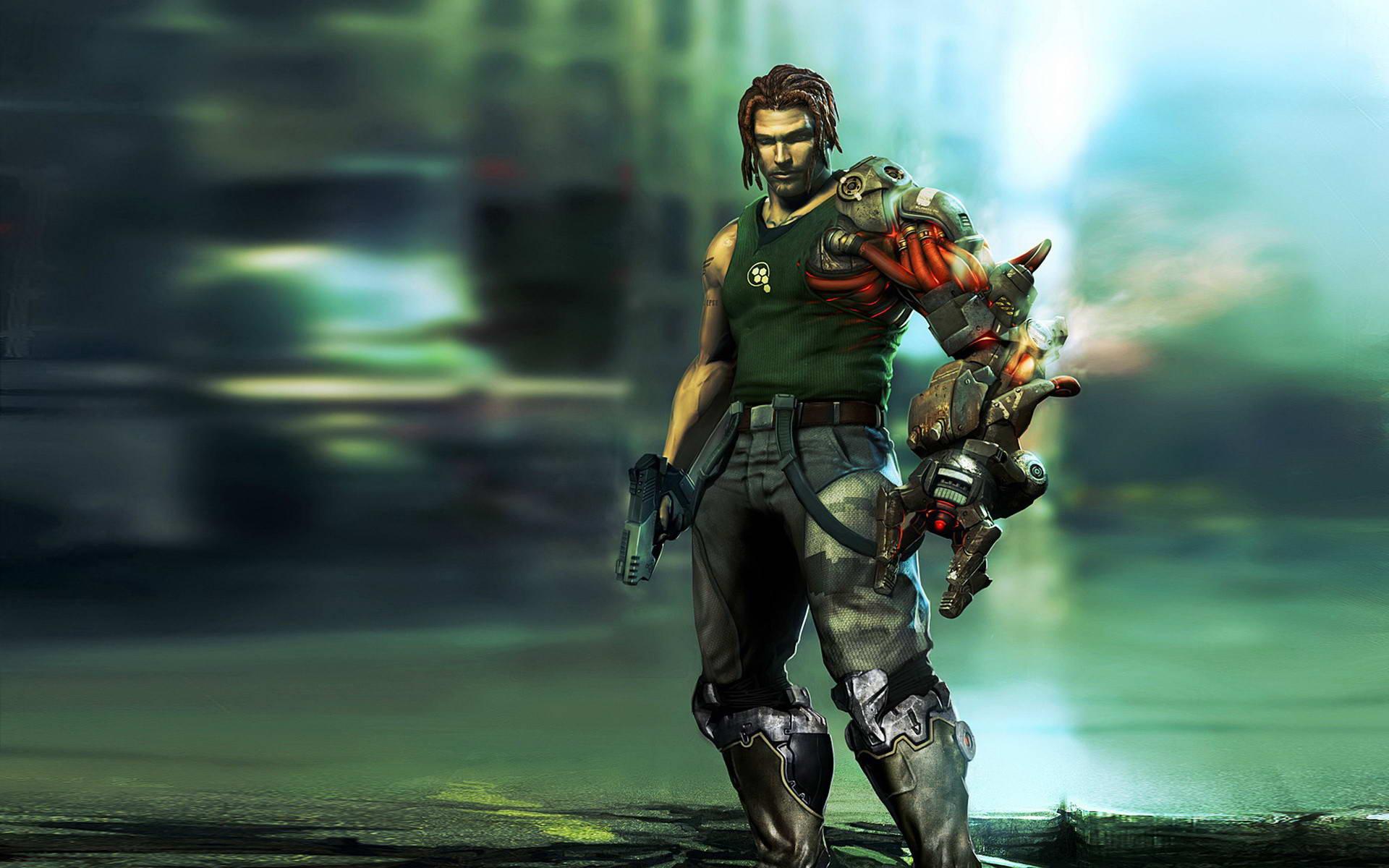 Скриншот Bionic Commando
