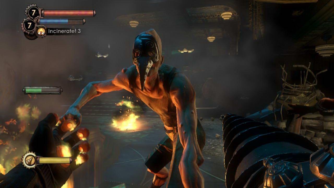 Скриншот BioShock 2
