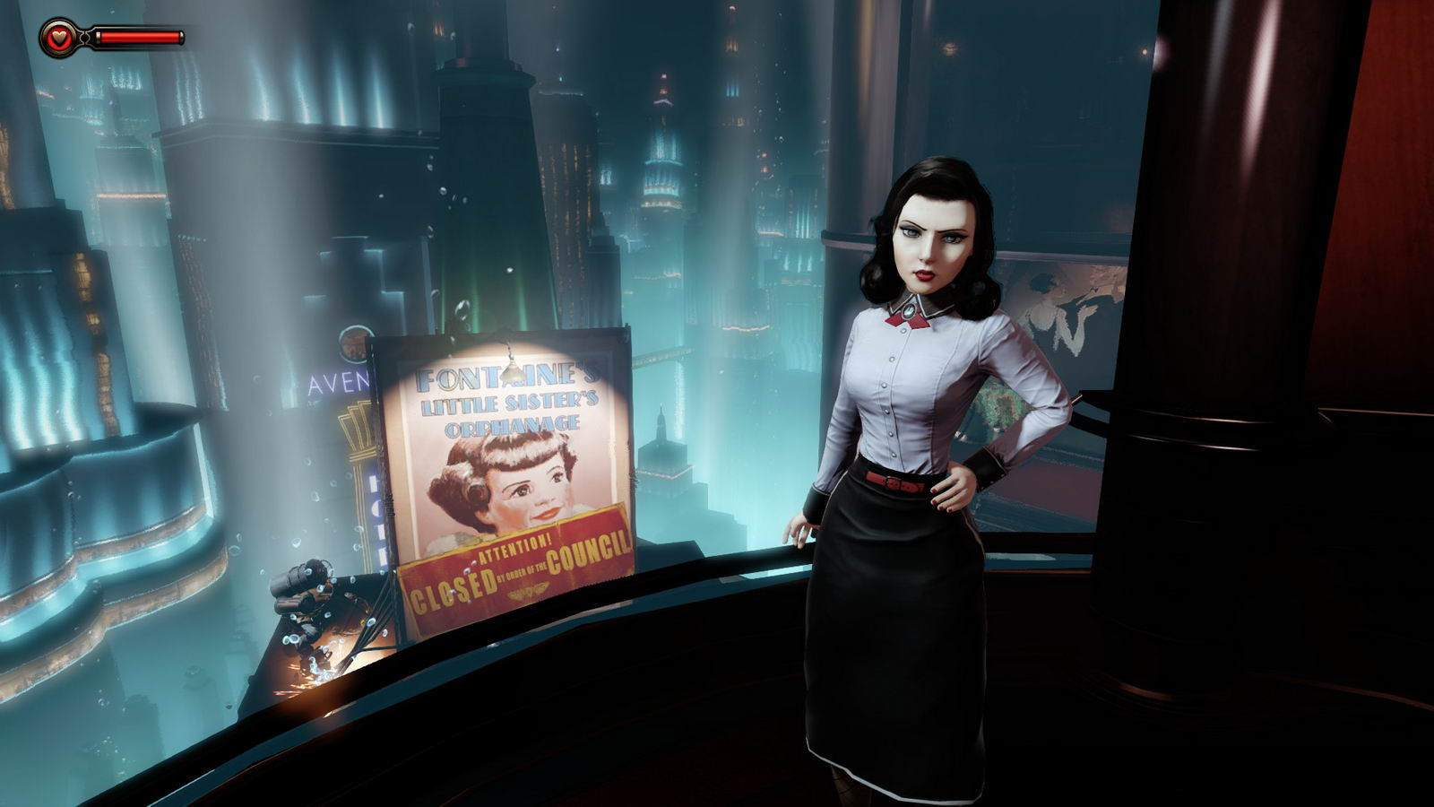 Скриншот BioShock Infinite: Burial at Sea - Episode One