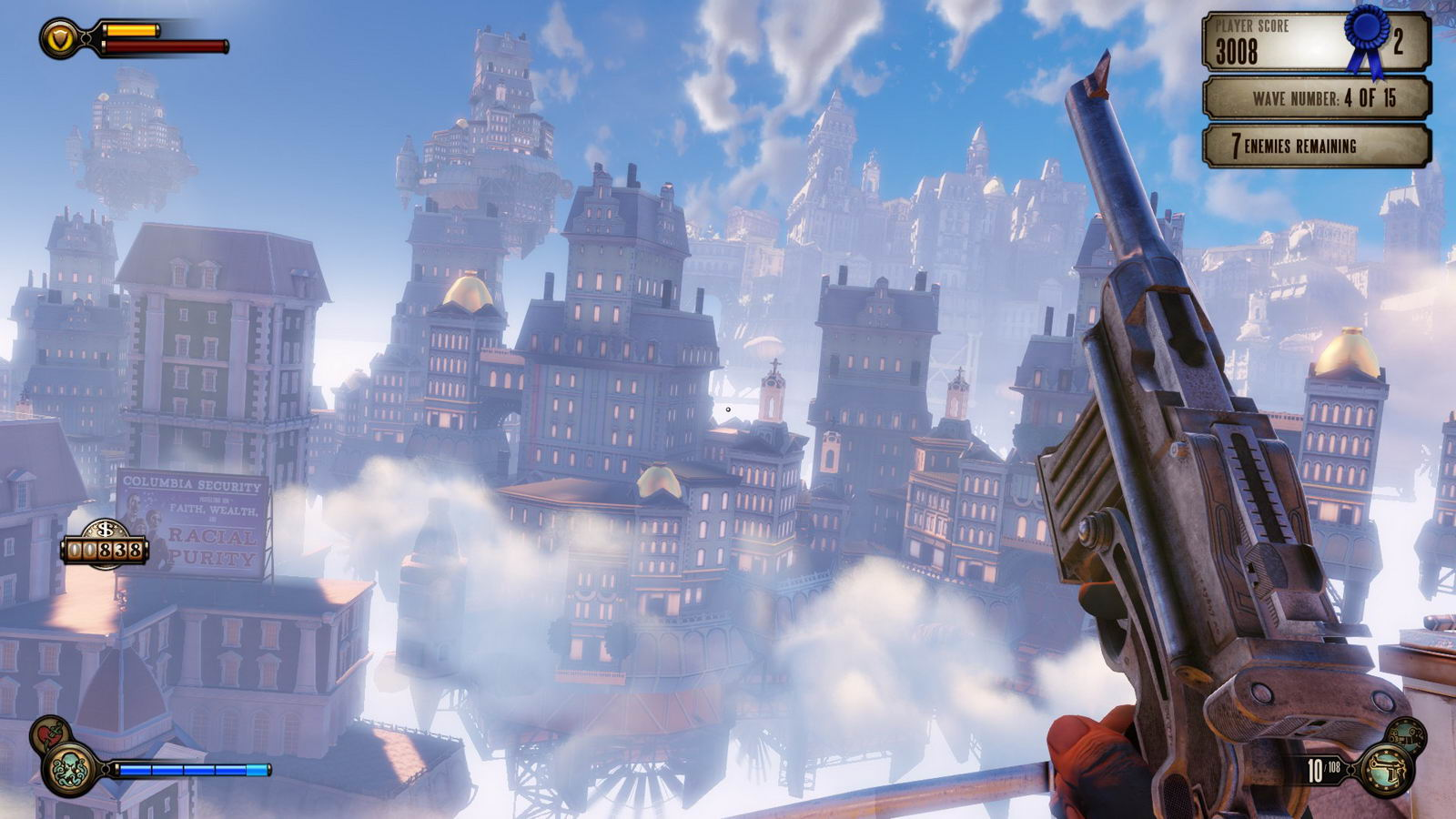 Скриншот Bioshock Infinite: Clash in the Clouds