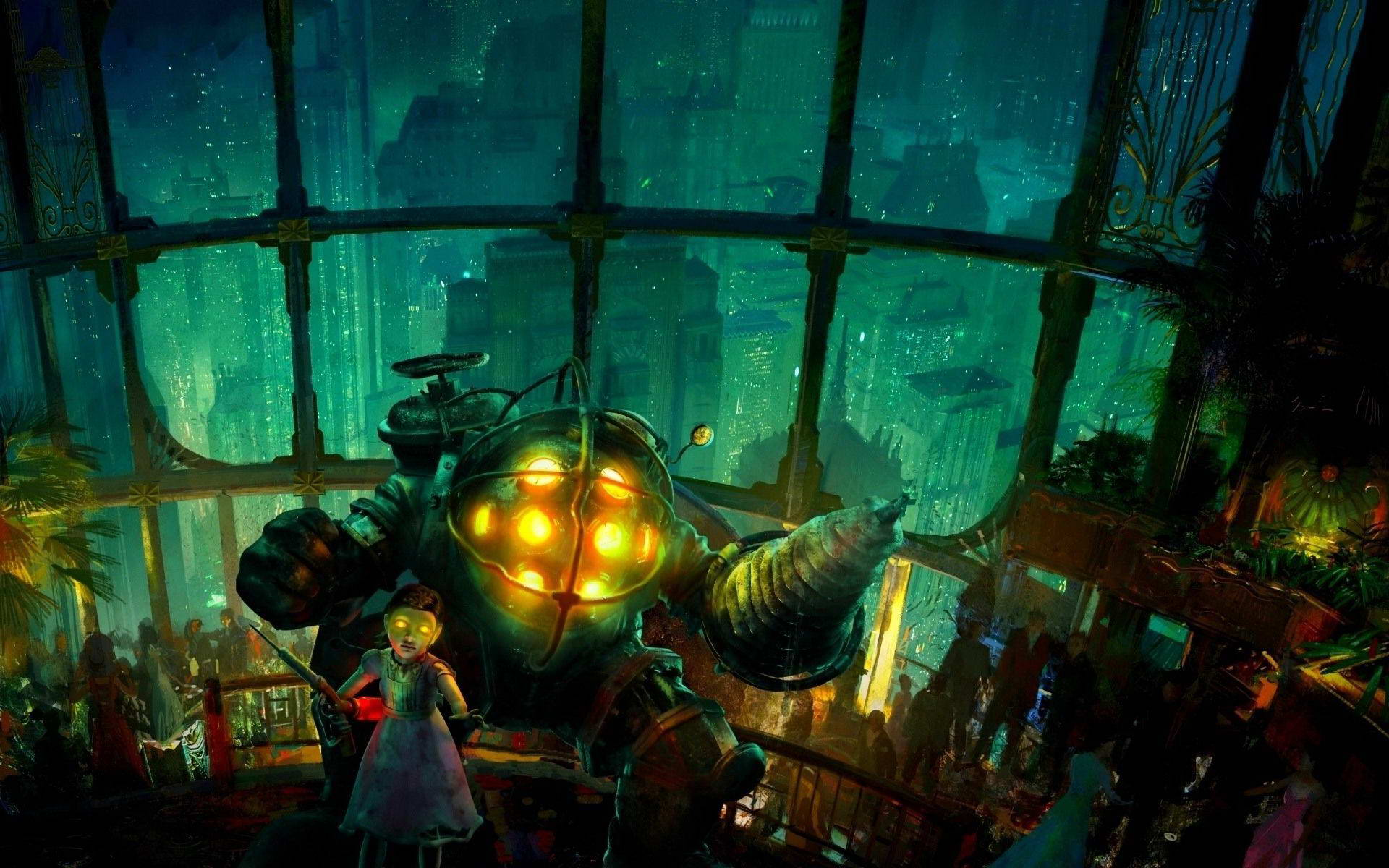 Скриншот BioShock: The Collection