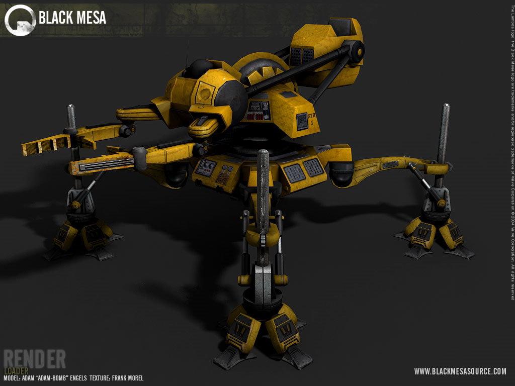 Арт Black Mesa