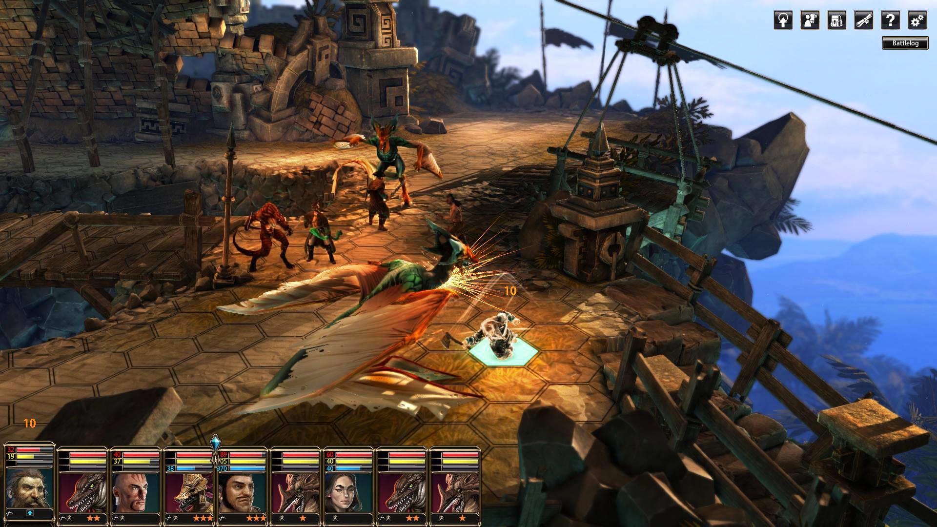 Скриншот Blackguards 2