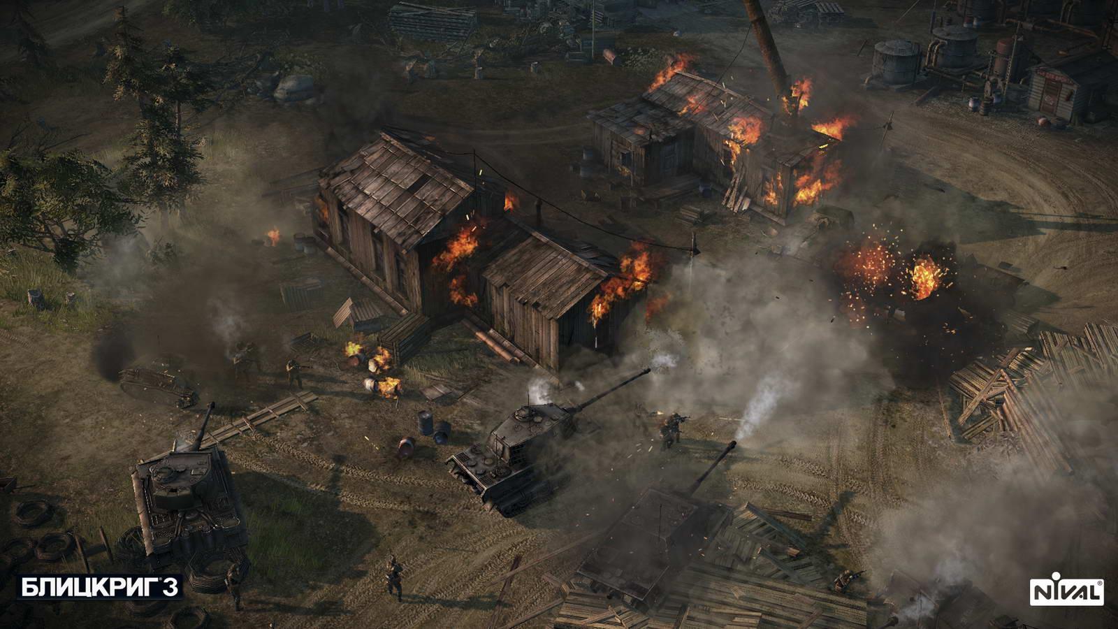 Скриншот Blitzkrieg 3