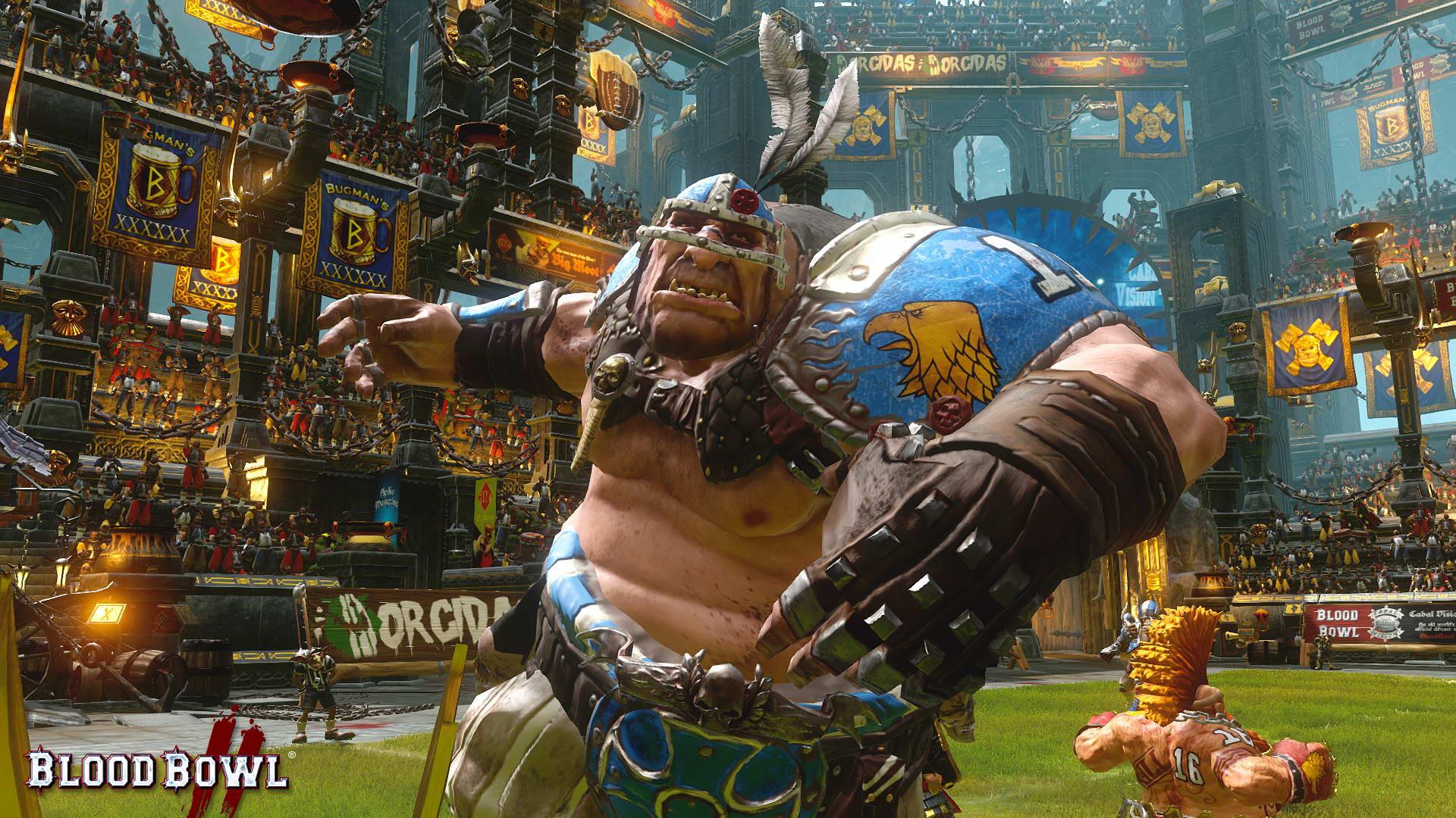 Скриншот Blood Bowl 2