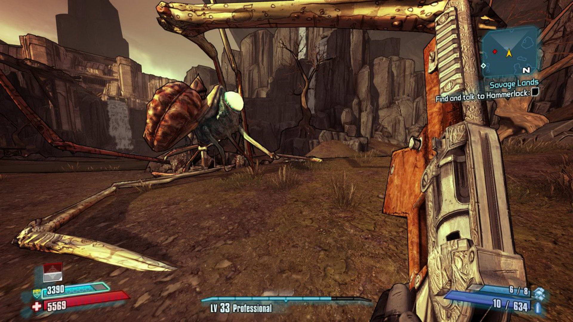 Скриншот Borderlands 2: Sir Hammerlock's Big Game Hunt