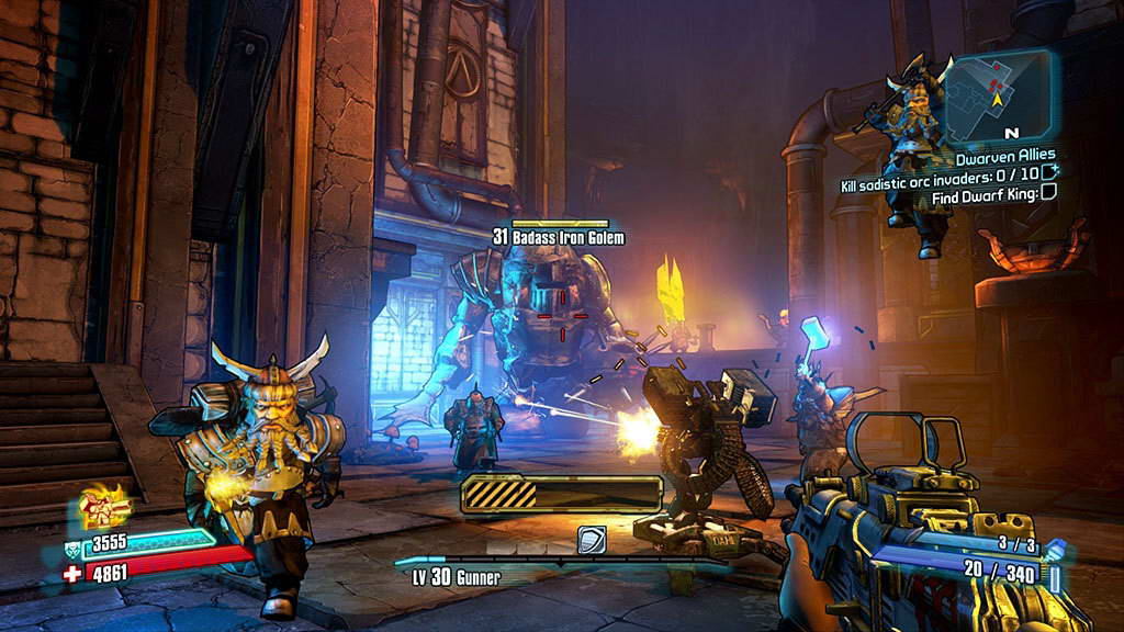 Скриншот Borderlands 2: Tiny Tina's Assault on Dragon Keep