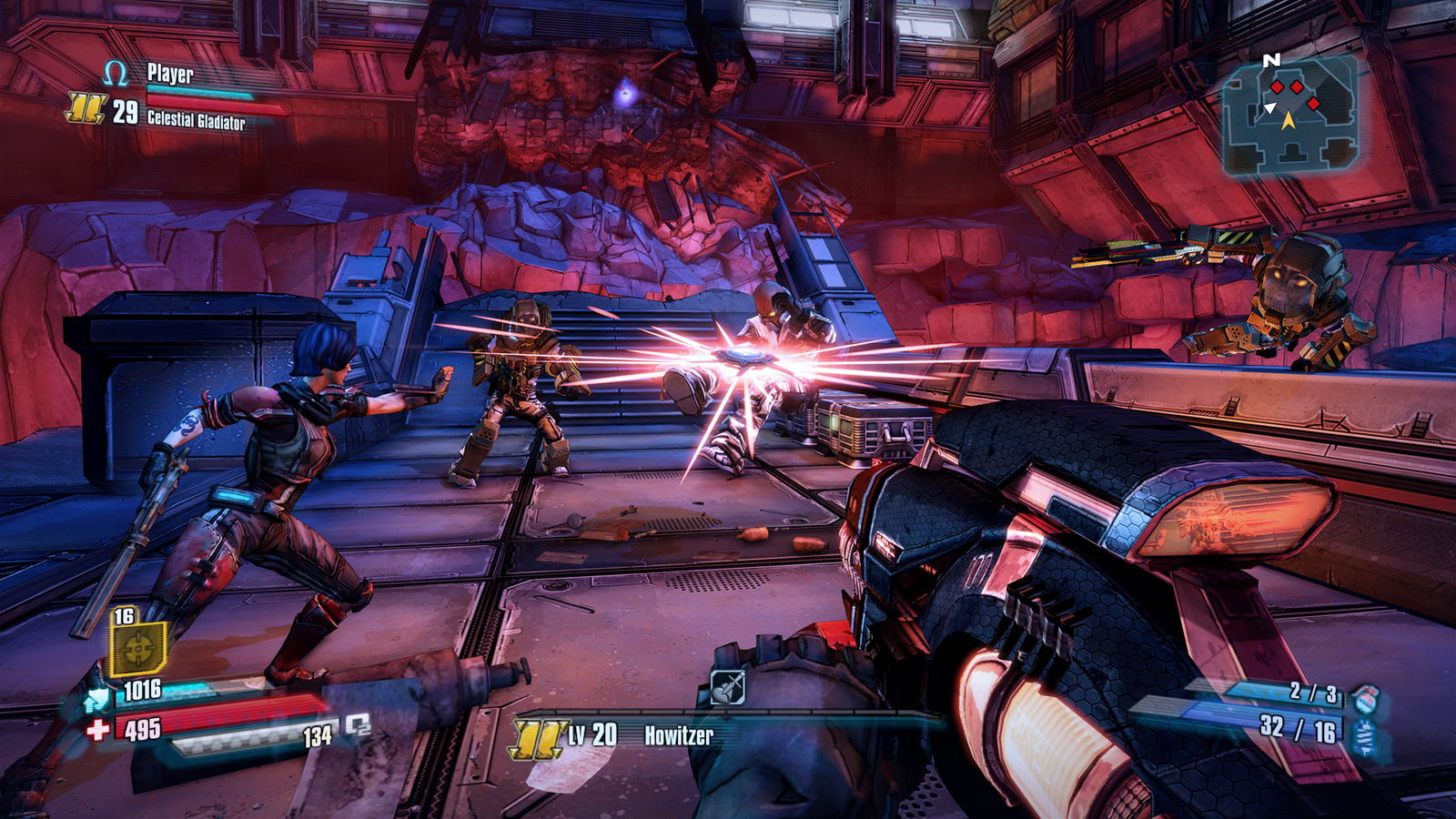 Скриншот Borderlands: The Pre-Sequel