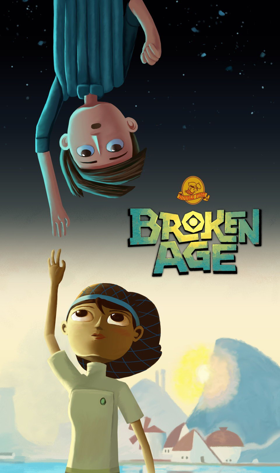 Арт Broken Age Act 1