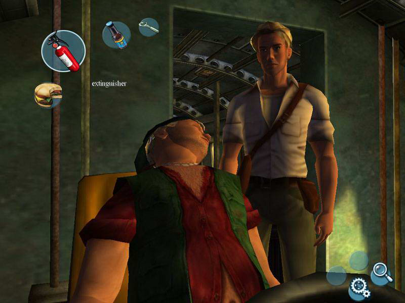 Скриншот Broken Sword: The Sleeping Dragon