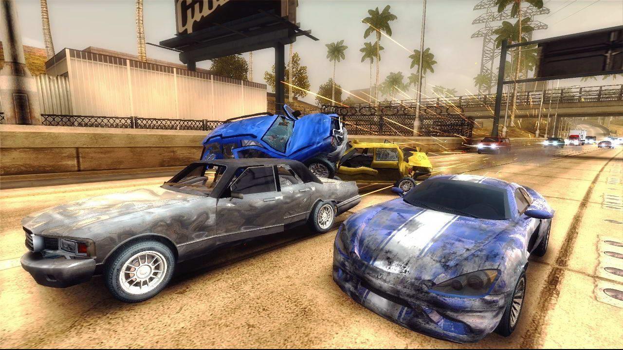 Скриншот Burnout Revenge