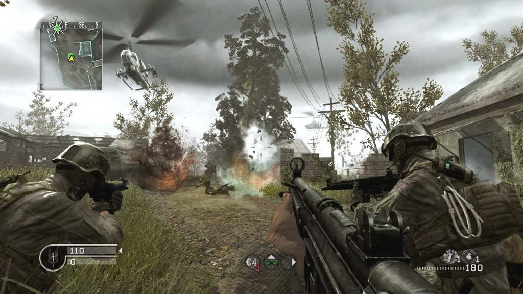 Скриншот Call of Duty 4: Modern Warfare