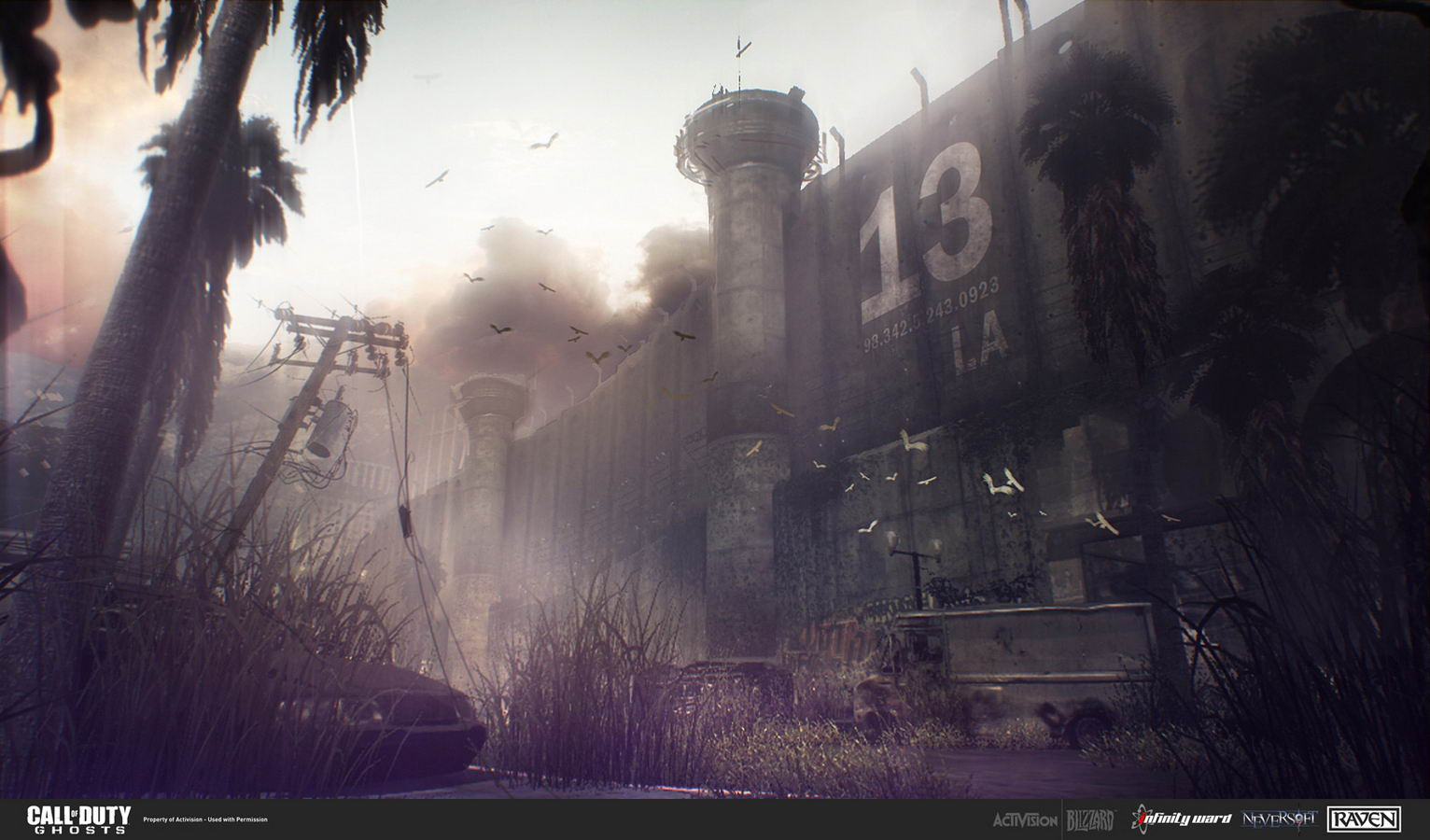 Арт Call of Duty: Ghosts