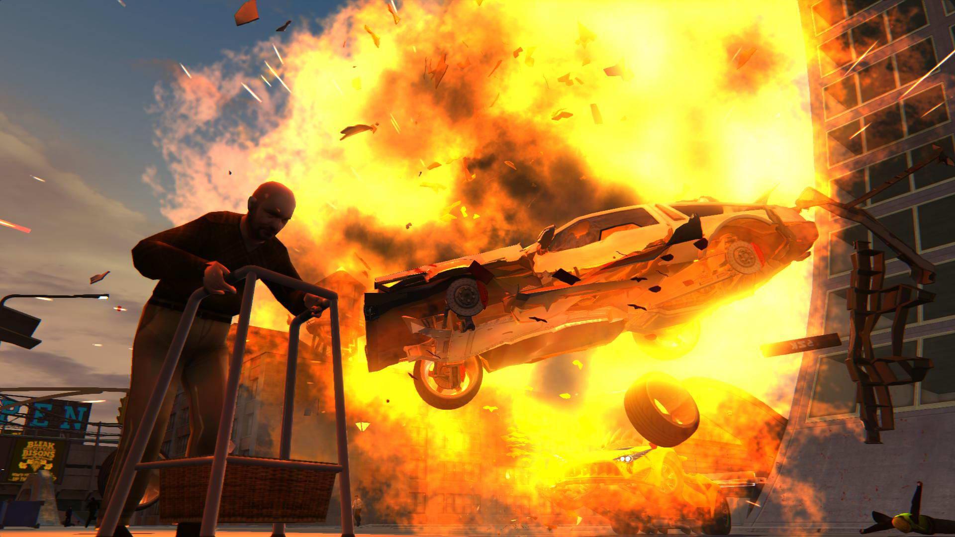 Скриншот Carmageddon: Reincarnation