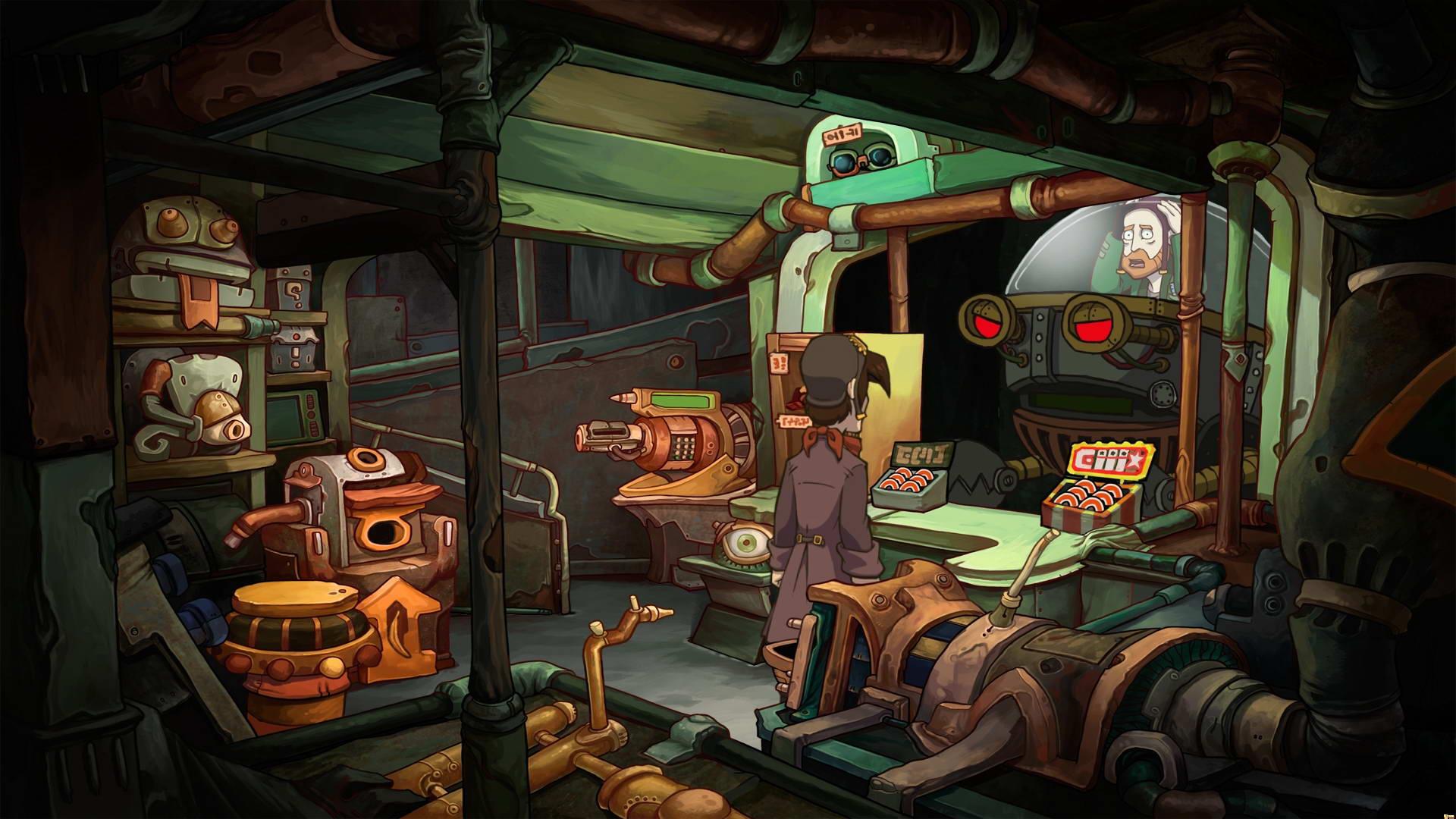Скриншот Chaos on Deponia