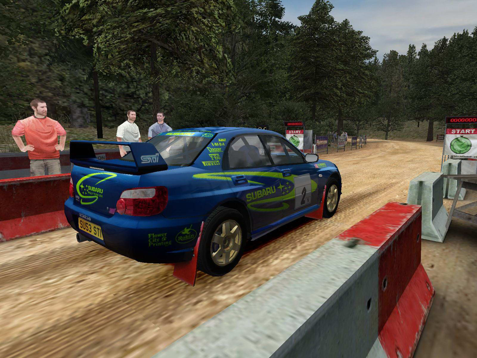 Скриншот Colin McRae Rally 04