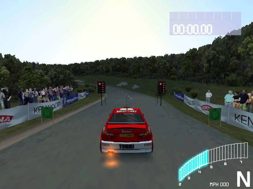 Скриншот Colin McRae Rally 2.0